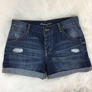 London Jean Victoria's Secret Button Fly Shorts